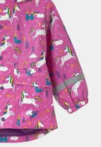 Frugi - PUDDLE BUSTER - Waterproof jacket - pink - 3