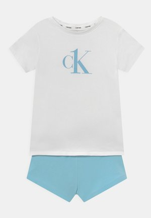 SET - Pyjama set - white/bluefizz