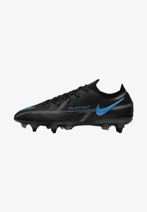 SOFT-GROUND FOOTBALL - Fotbolsskor skruvdobbar - black/iron grey/black
