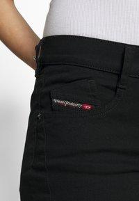 Diesel - BLESSIK  - Flared Jeans - black - 5