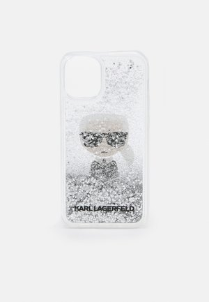 IKONIK GLITTER CASE IPHONE 12 MINI - Obal na telefon - transparent