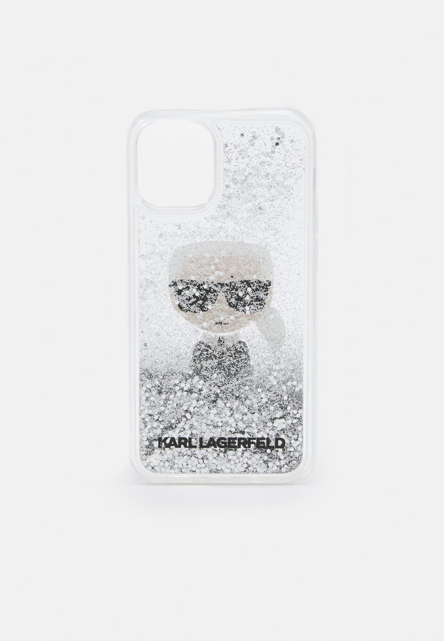 IKONIK GLITTER CASE IPHONE 12 MINI - Mobilveske - transparent