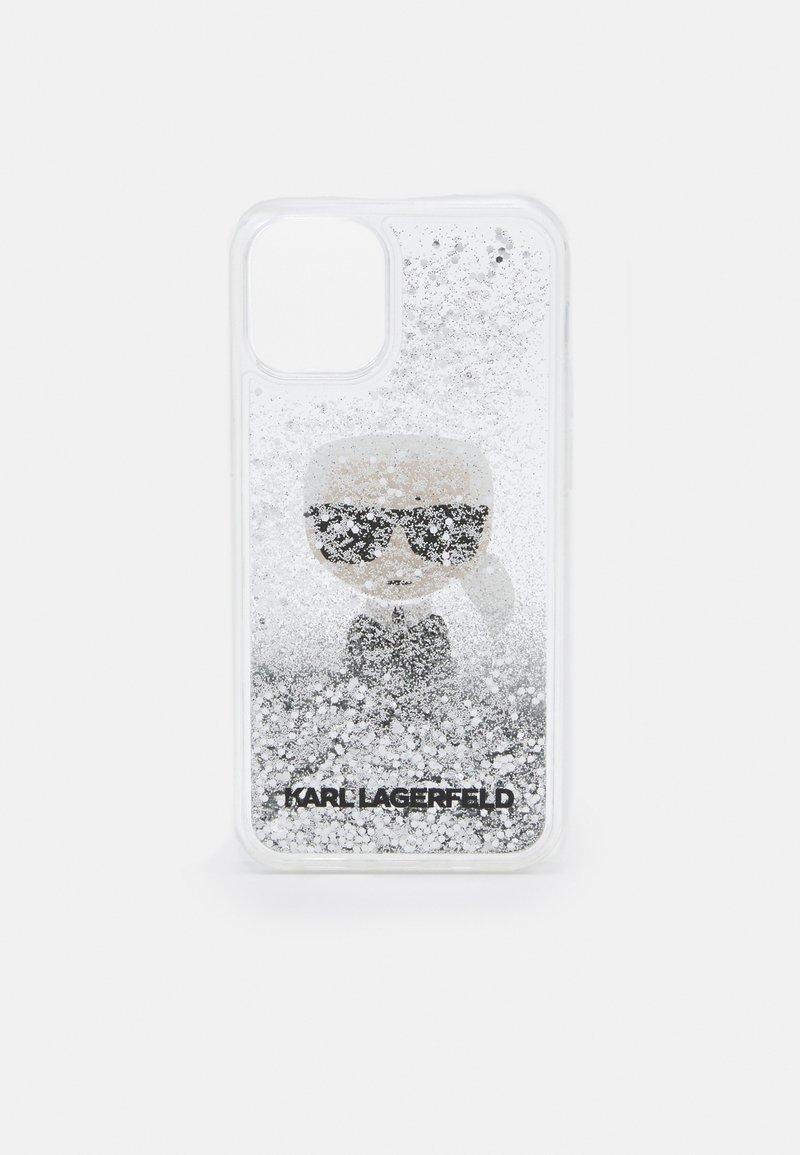 KARL LAGERFELD - IKONIK GLITTER CASE IPHONE 12 MINI - Handytasche - transparent