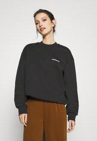 Carhartt WIP - TYPEFACE  - Sweatshirt - black/white - 0