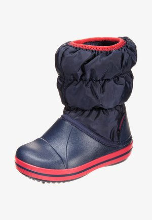 Boots - navy/red