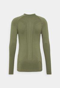 NU-IN - HALF ZIP LONG SLEEVE  - Long sleeved top - khaki - 8