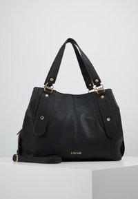 LIU JO - SATCHEL COFFEE MILK - Håndtasker - black - 0