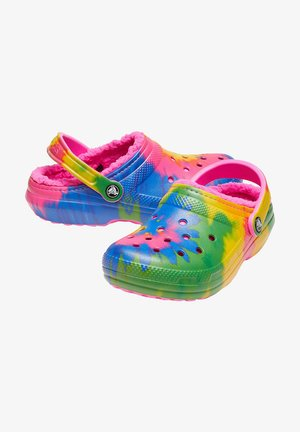 Clogs - electric pink / multi
