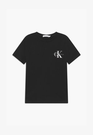 CHEST MONOGRAM UNISEX - Print T-shirt - black