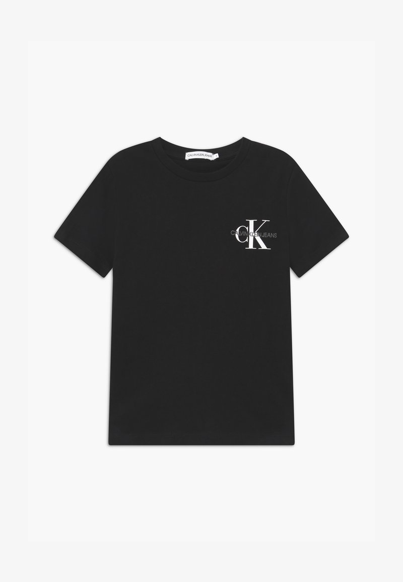 Calvin Klein Jeans - CHEST MONOGRAM UNISEX - Camiseta estampada - black