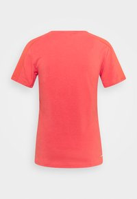 adidas Performance - Basic T-shirt - crered/white - 5