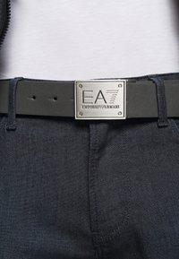 EA7 Emporio Armani - UNISEX - Cinturón - black/grey - 1