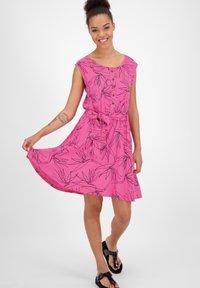 alife & kickin - Day dress - fuchsia - 1