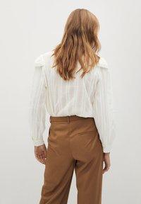 Mango - ROMANTIC - Skjortebluser - offwhite - 2