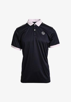 Polo shirt - nav/wht