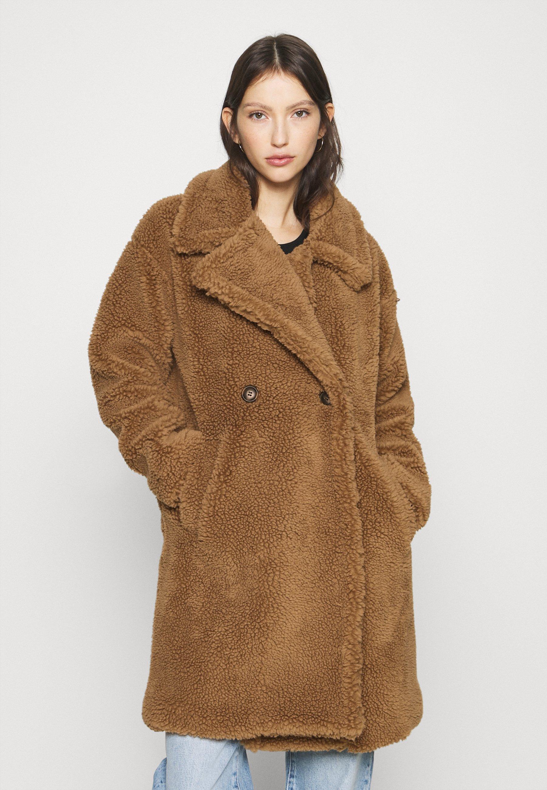 Bruine Wollen jassen dames online kopen | Gratis verzending
