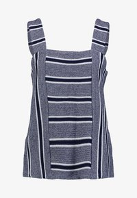 Vince Camuto - LIKE STRIPE TANK - Toppe - classic navy - 4