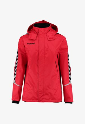 CHARGE ALL-WEATHER  - Kurtka Outdoor - true red/black