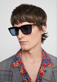 Gucci - Sunglasses - havana/light blue - 1