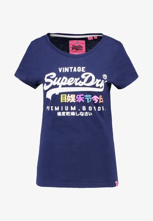 PREMIUM GOODS PUFF ENTRY TEE - T-shirts med print - supermarine navy