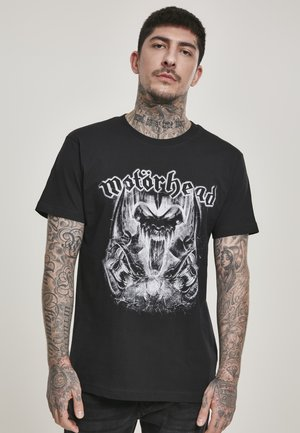 MOTÖRHEAD WARPIG - T-shirt con stampa - black
