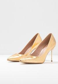 Kurt Geiger London - BRITTON - High heels - gold - 4