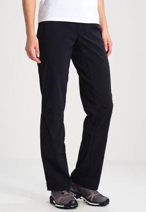 SATURDAY TRAIL - Trousers - black