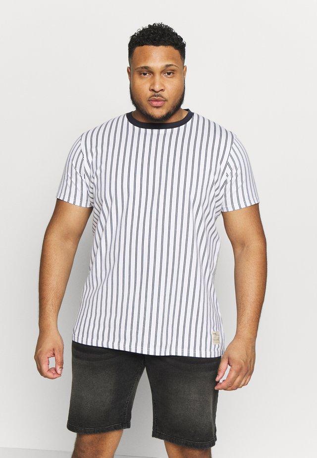 USTEP TEE - Basic T-shirt - pristine