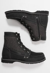 Harley Davidson - DOWLING - Lace-up ankle boots - black - 1