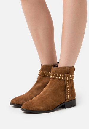 ELLIE  - Bottines - cognac