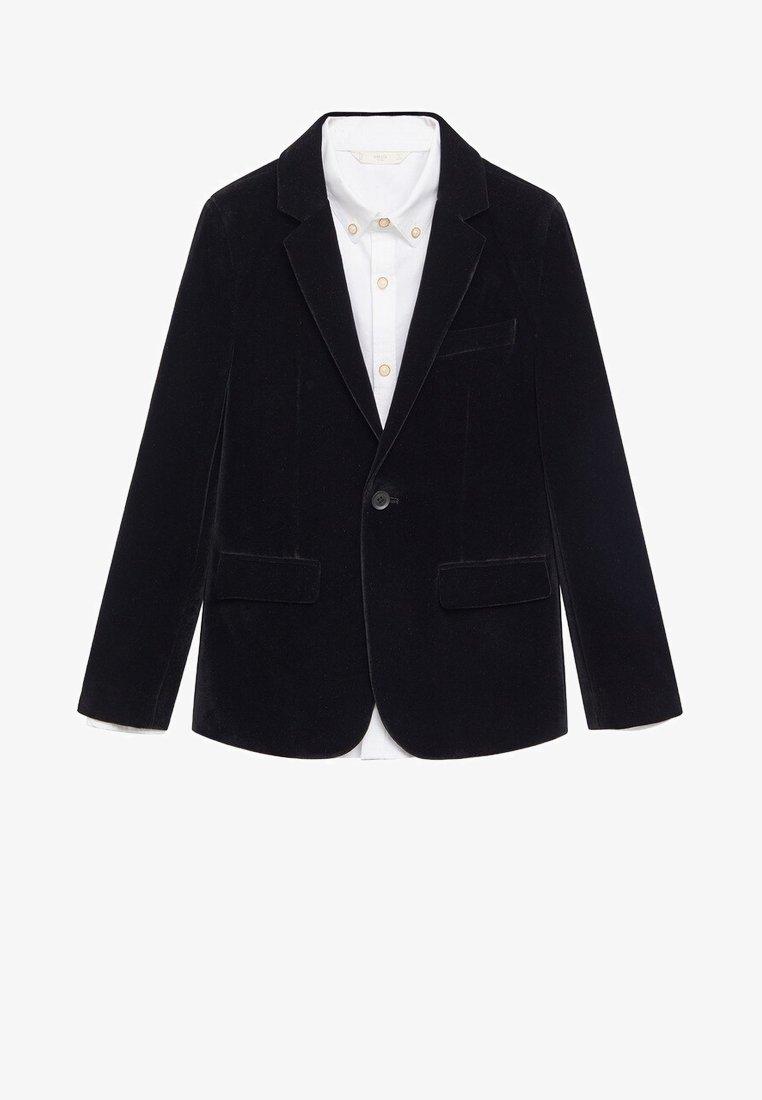 Mango - Blazer jacket - schwarz