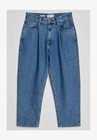 Bershka - Straight leg jeans - dark blue - 4