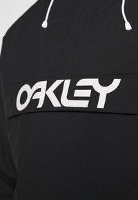 Oakley - INSULATED ANORAK - Snowboard jacket - blackout - 5