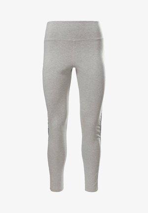 REEBOK VECTOR TAPE LEGGINGS - Leggings - grey