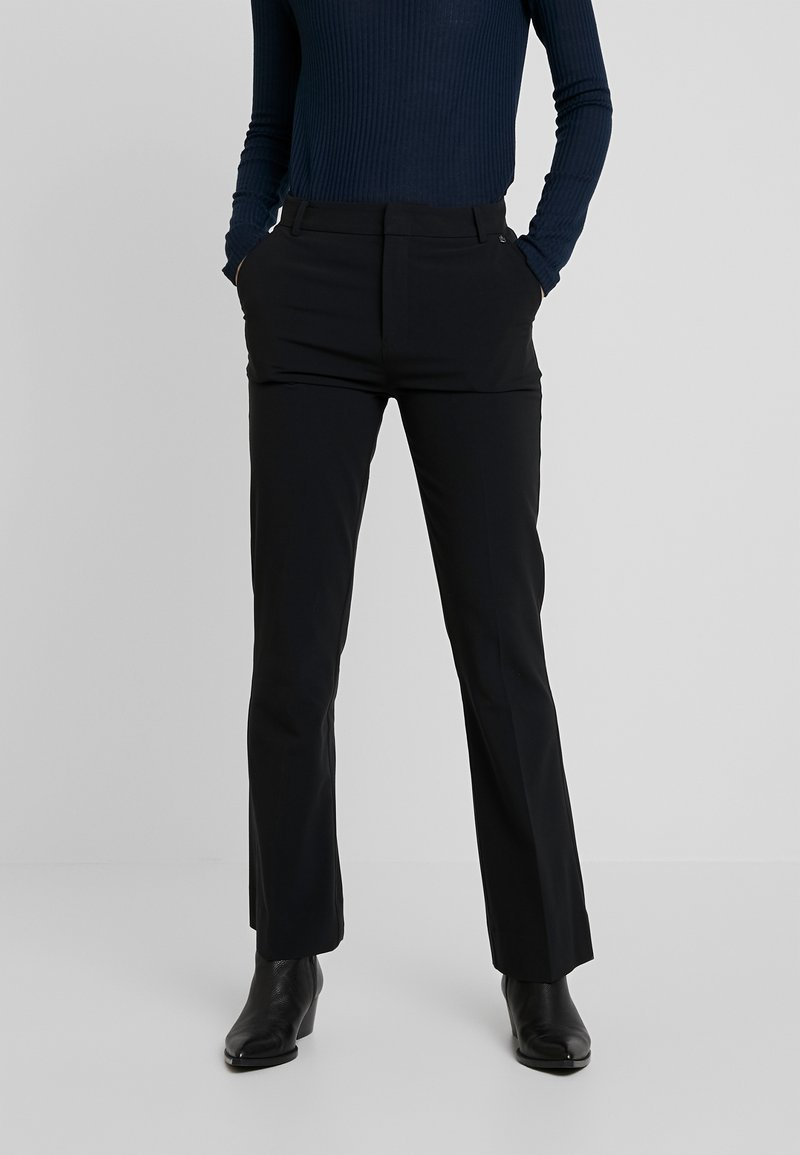 Pepe Jeans - AGNES - Trousers - black