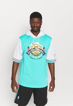 NBA ALL STAR FASHION HOODY - Klubbkläder - green/teal