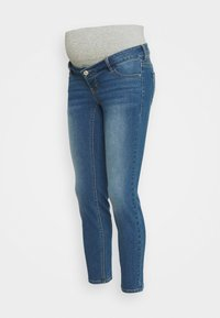 Pieces Maternity - PCMLILA SLIM - Slim fit jeans - medium blue denim - 4