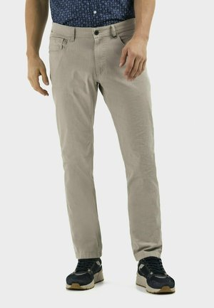 REGULAR FIT  - Trousers - sand