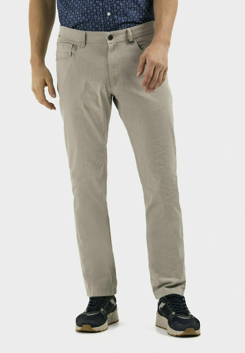 camel active - REGULAR FIT  - Trousers - sand