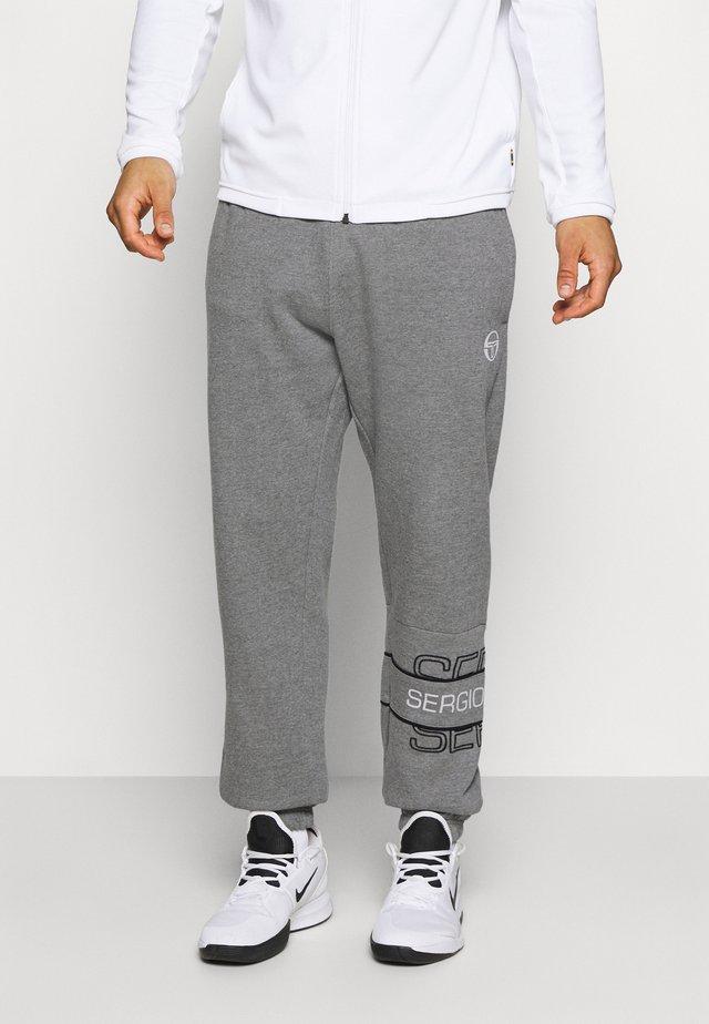 BLINK PANTS - Teplákové kalhoty - darkgreymelange/black