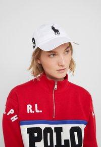 Polo Ralph Lauren - CLASSIC SPORT CAP  - Kšiltovka - white - 4