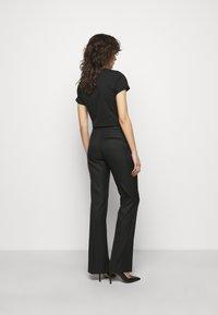 HUGO - HERLENE - Kalhoty - black - 2