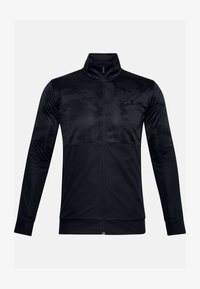 Under Armour - SPORTSTYLE PQE CAMO TK JT - Training jacket - black - 3
