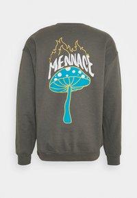 Mennace - UNISEX SHROOM PRINT  - Sweatshirt - charcoal - 1