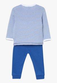 Sanetta - PYJAMA LONG BABY - Pyjamas - river blue - 1
