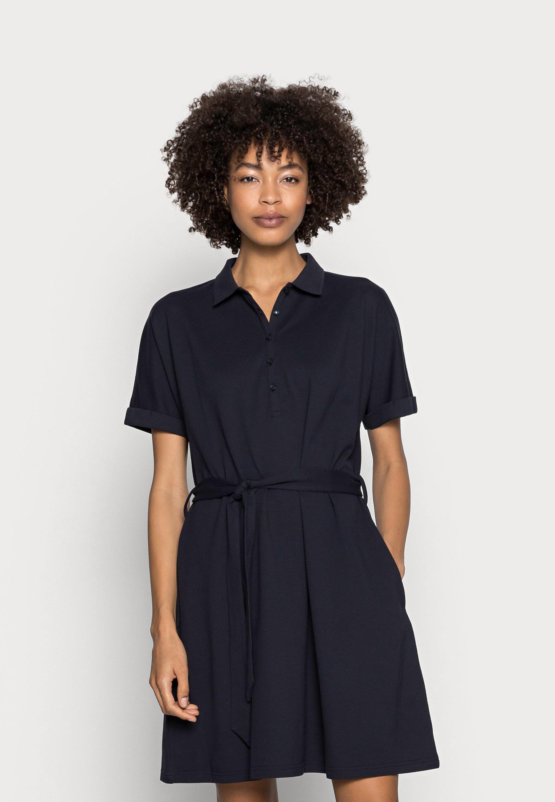 Women F COO POLO DRSS - Shirt dress
