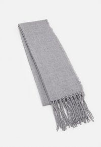 Burton Menswear London - PLAIN SCARF - Scarf - grey - 0