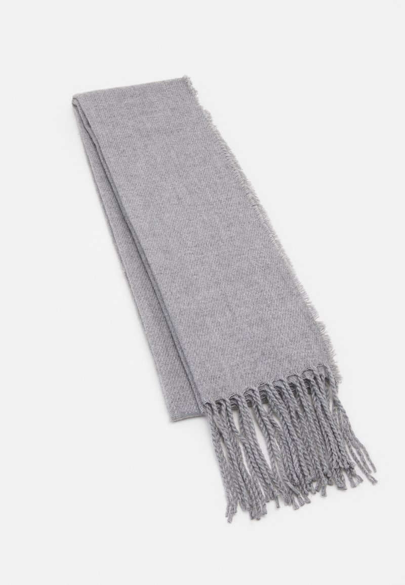 Burton Menswear London - PLAIN SCARF - Scarf - grey
