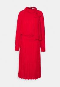 Victoria Beckham - DRAPED GATHERED DRESS - Vestito elegante - red - 5