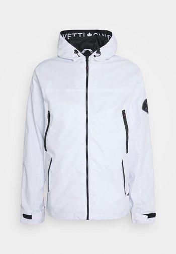MALVETTI WINDRUNNER - Summer jacket - white
